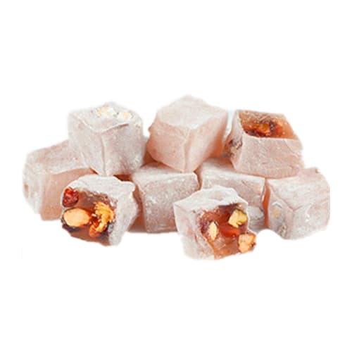 Koska traditionel tyrkisk glæde med rosenfarvet metal i æske 120 gr