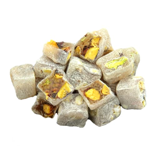 Koska Traditional Turkish Delight with Extra Pistachio (Turkish Lokum) 250 gr