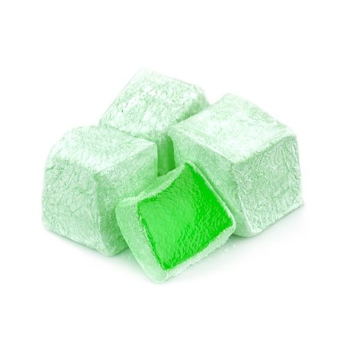 Koska Traditional Turkish Delight with Mint Flavored (Turkish Lokum) 250 gr