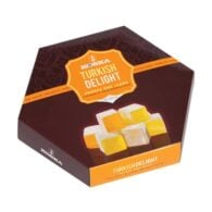 Koska Traditional Turkish Delight with Orange and Lemon Flavored (Turkish Lokum) 250 gr