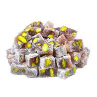 Koska Traditional Turkish Delight กับ Pistachio Sugar-Free สำหรับผู้ป่วยโรคเบาหวาน 160 gr (5.65oz)