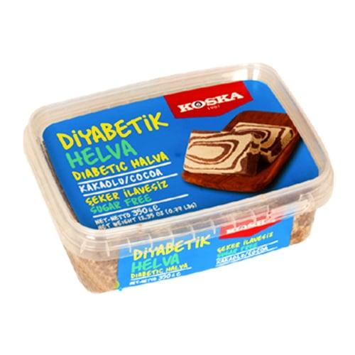 Koska traditionel tyrkisk halva sukker uden kakaosmag til diabetiker 350 gr
