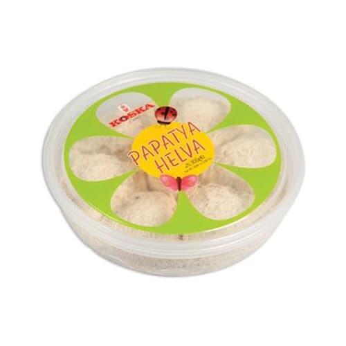 Koska传统土耳其平原酥糖糖果(带塑料盒)300 gr
