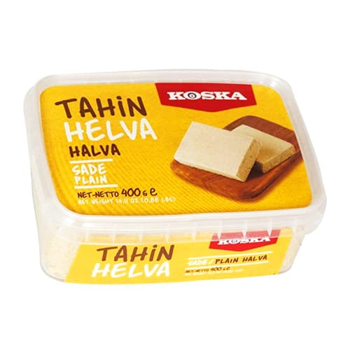 Koska Traditional Turkish Plain Halva