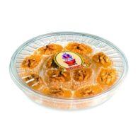 Koska Turkish Delight Palace with Walnut Transparent Boxed