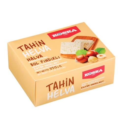 Конфеты Koska Turkish Traditional Box Halva с лесным орехом 350 гр
