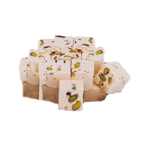 阿月浑子的Koska土耳其传统平原拉伸酥糖