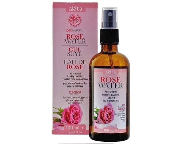 Akita Premium Quality Natural Turkish Rose Water Spray - Contains Rose Oil фото