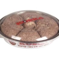 Koska traditional turkish cocoa flavored tray halva candy 650gr