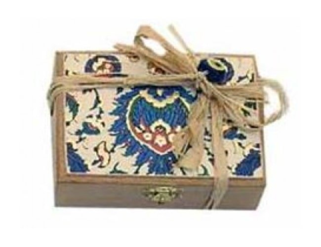 Koska Traditional Turkish Delight with Double Pistachios - Wooden Boxed фото