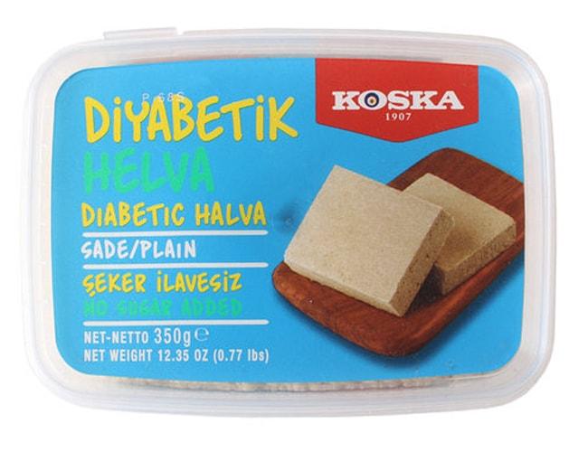 Koska Traditional Turkish Halva Plain Sugar-Free for Diabetic, 350 gr фото