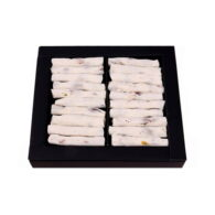 Finger Turkish Delight with Honey, Milk and Pistachio in Small Box