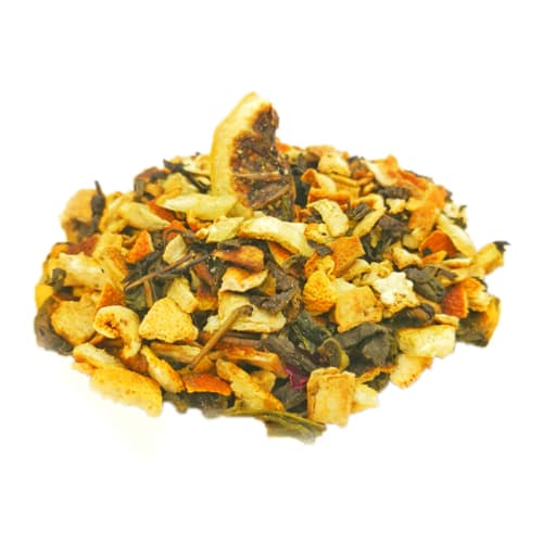 绿茶草药混合
