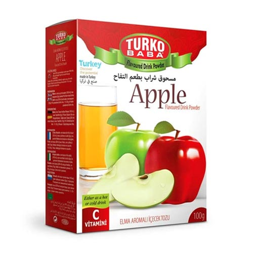 Thé naturel aux pommes