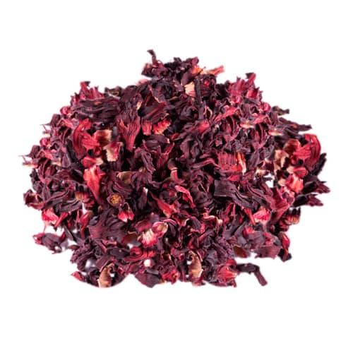 Natural hibiscus tea