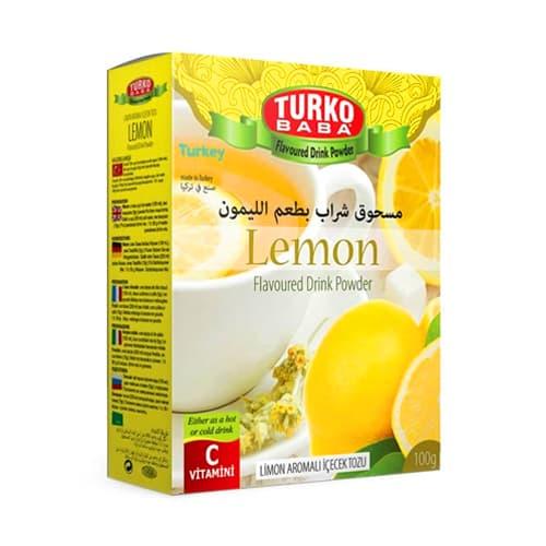 Naturlig citron te 100 gr