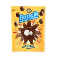 Popcik Candy Crispy Covered with Milk Chocolate 40 gr