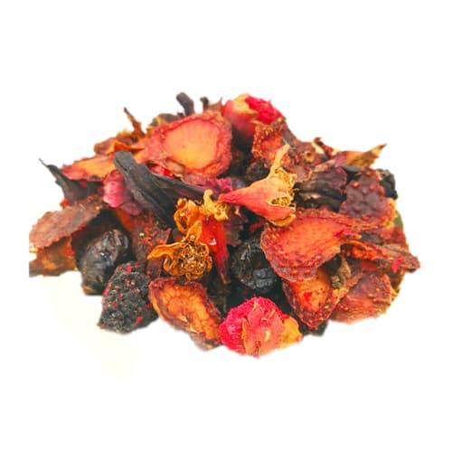 Red fruit mix tea