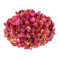 Rød rosebud te