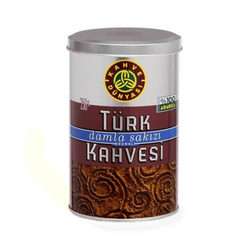 Café traditionnel turc avec gomme mastic 250 gr