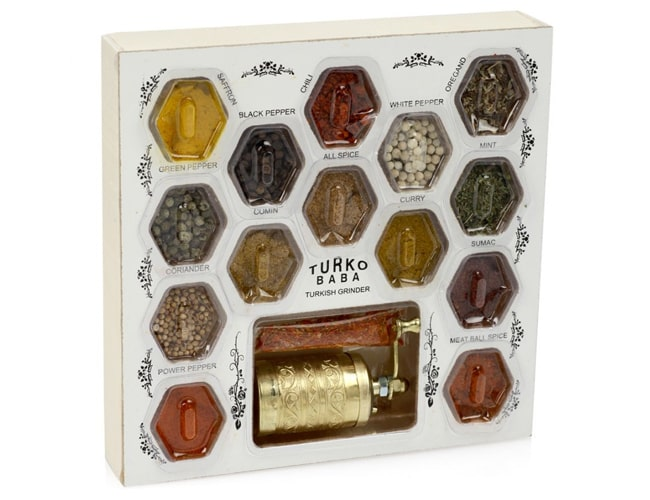 17 Different Spices Large Turkish Spice Set фото