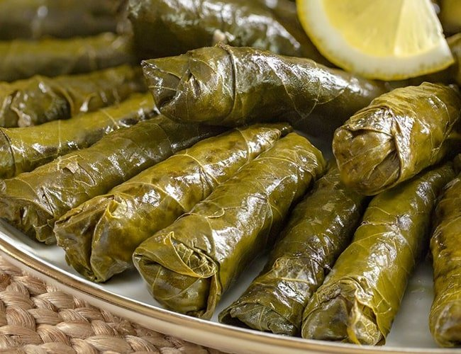 Turkish Leaf Wrapping in Olive Oil фото