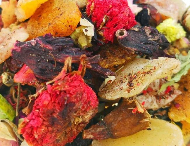 Tropical Fruit Mix Tea фото