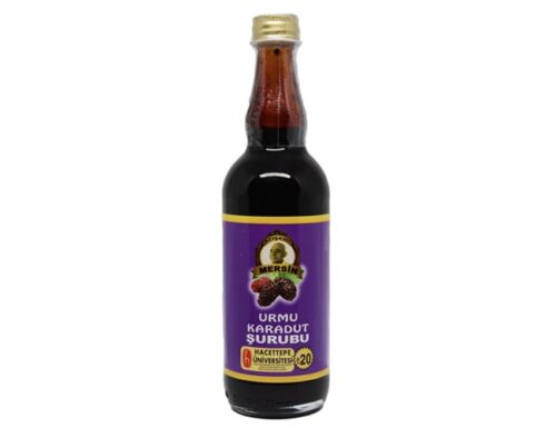 Black mulberry syrup 100 cc