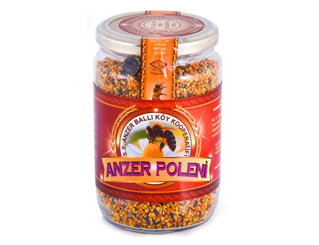 Natural Turkish Anzer Bee Pollen from Rize Anzer Plateau фото