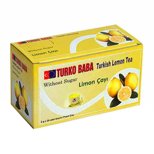 레몬 티백