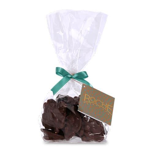 Chocolate negro con pistacho hecho a mano 250g