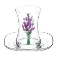 Набор бокалов для турецкого чая Lav Lavender (12шт)