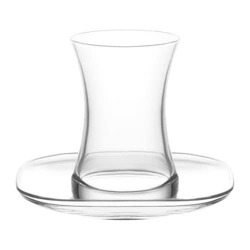 लव तुर्की टी ग्लास सेट ज़ेन (12 पीसी)