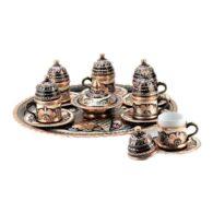 Turki-Tembaga-Kopi-Set-Handcrafted-Erzincan- (Set-Of-6)