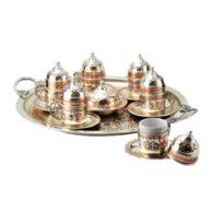 Turki-Tembaga-Kopi-Set-Handcrafted-Miray- (Set-Of-6)