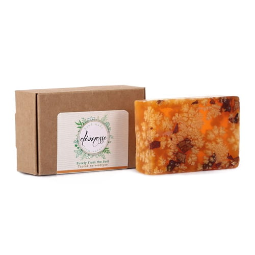Turkish natural handmade soap apricot