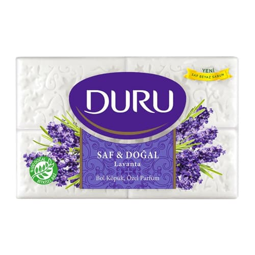 Turkish soap pure & natural lavender duru