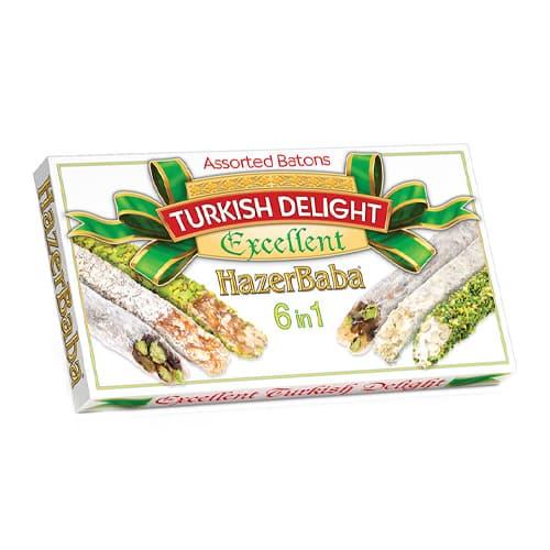 Hazerbaba-turkish-delight-(lokoum)-assorted-batons-excellent-350g-(12. 25oz)