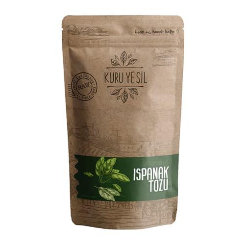 Kuru-yesil-organic-espinaca-en polvo-3. 52 oz-100g