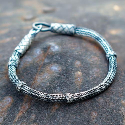 1000-sterling-silver-hand-knitting-bracelet