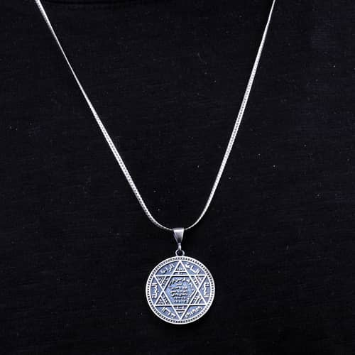 925-Sterling-Silver-Seal-Of-Solomon-Pendant
