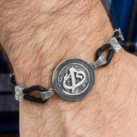 Custom-Design-Elif-Vav-Silver-Bracelet-With-Kalemkar-Handwierk