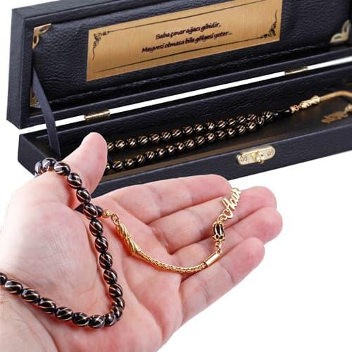Custom-Leather-Box-Embroidered-Oltu-Stone-Rosary