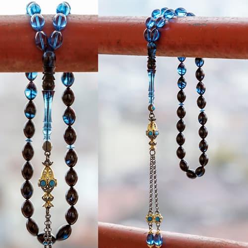 Imame-custom-design-crimping-amber-rosary-with-craftsmanship