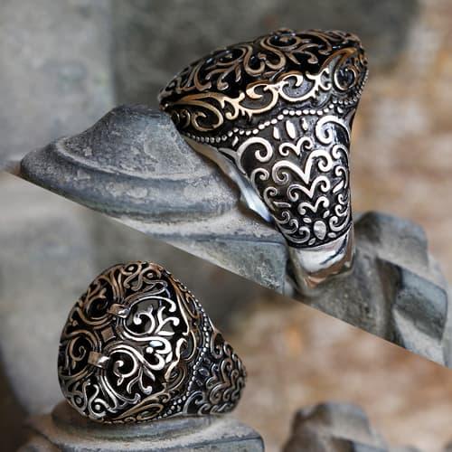 Seljuk-design-925-sterling-silver-ring