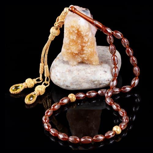 Zilver-ingelegd-knijpen-amber-rozenkrans