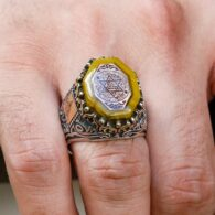 Silver-Ring-Of-Solomon-On-The-Seal-Of-Squeezing-Amber