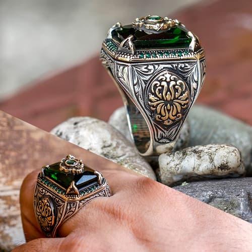 Stone-Claw-Design-Sultan-Ring-China-Fabricante