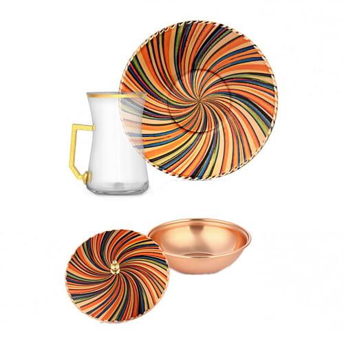 Decorative-6-pcs-Copper-Tea-Set-erb-c021