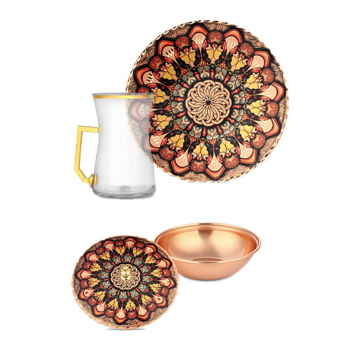 Decorative-6-pcs-Copper-Tea-Set-erb-c053